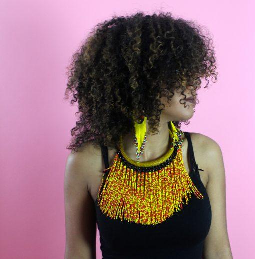 queen necklace & earrings