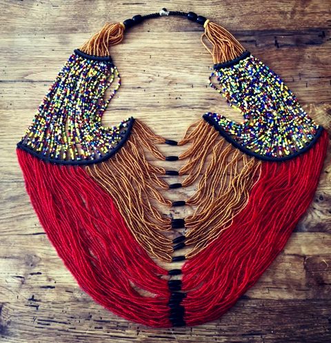 Beaded Breast Plate