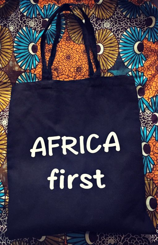 africa first tote bag